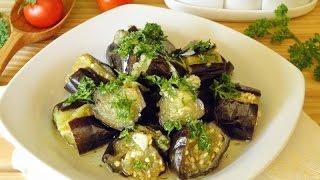 Рецепт маринованных баклажанов с чесноком с фото 5