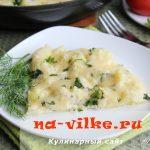 Цветная капуста в сметано-яичной заливке с сыром — рецепт с фото