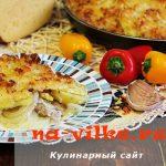 Свиные отбивные с картофелем и сыром в духовке – рецепт с фото