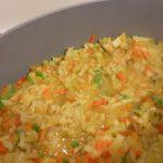 Пошаговый рецепт овощного рагу с кабачком и цветной капустой — фото