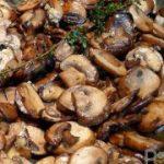 Жареные шампиньоны – рецепт для вкусного гарнира из шампиньонов