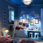 Люстра для детской комнаты мальчика или девочки — фото примеров