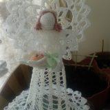 Вязание крючком: Ангел-колокол — вязание крючком для начинающих схемы видео уроки