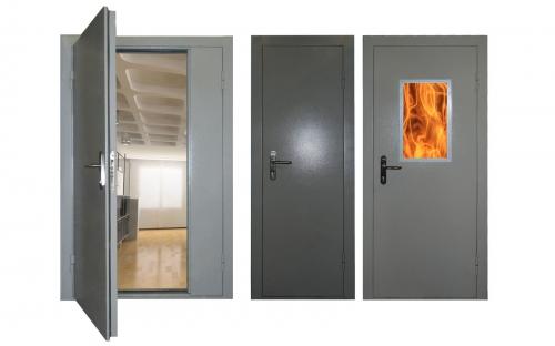 Нужно ли использовать противопожарные двери