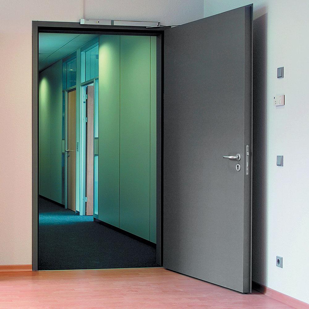 Однопольные или двупольные противопожарные двери