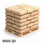 Цемент марки м500: применение и разновидности