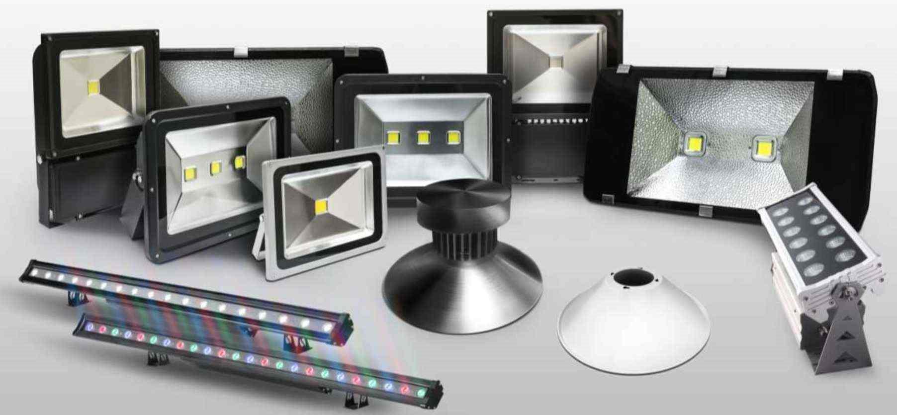 Типы светодиодных прожекторов