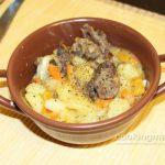 Лысуха тушеная с картошкой — Кулинария для мужчин
