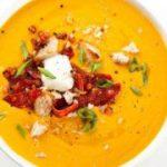 Cуп-пюре из сладкого картофеля с маскарпоне – рецепт супа-пюре с бататом