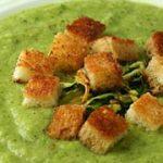 Суп-пюре из цуккини – рецепт
