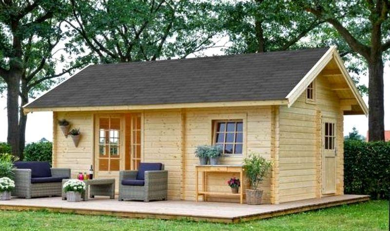 Как построить садовый домик под ключ