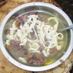 Суп из изюбрятины с домашней лапшой — Кулинария для мужчин