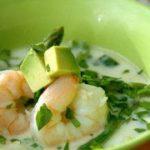 Суп с креветками холодный — рецепт