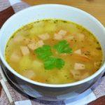 Суп с колбасой и вермишелью – пошаговый фоторецепт