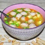 Фасолевый суп с фрикадельками – пошаговый фоторецепт