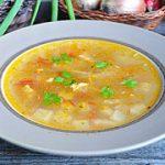 Картофельный суп с кабачками – пошаговый фоторецепт