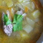 Суп с куриной печенью – пошаговый фоторецепт