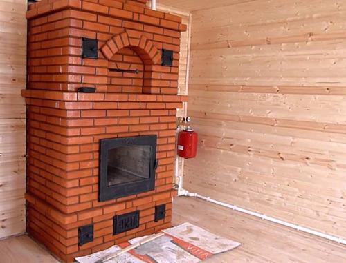 Печь в доме: тепло, уют, стильный дизайн