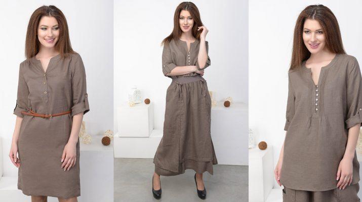 Преимущества одежды и текстиля из льна