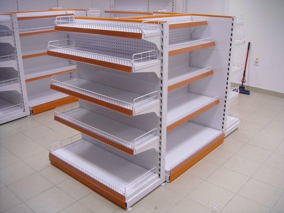 Виды торговых стеллажей – выбираем конструкцию для хлеба