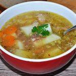 Картофельный суп с тушенкой – пошаговый фоторецепт
