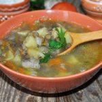 Картофельный суп с чечевицей без мяса – пошаговый фоторецепт