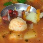 Томатный суп с фрикадельками – пошаговый фоторецепт