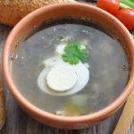 Щавелевый суп с курицей — пошаговый фоторецепт
