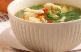 Сырный суп с клецками из кабачка — рецепт