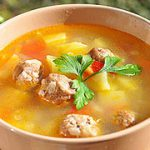 Картофельный суп с фрикадельками – пошаговый фоторецепт