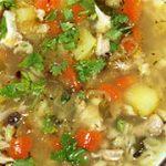 Картофельный суп с перловкой — рецепт