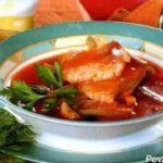 Рыбная солянка с шампиньонами — рецепт