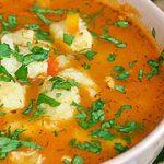 Томатный суп с клецками – пошаговый фоторецепт