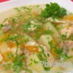 Скорый легкий суп с рыбой — рецепт приготовления