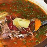 Томатный суп с фасолью – пошаговый фоторецепт