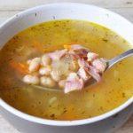 Суп с копченой курицей – пошаговый фоторецепт