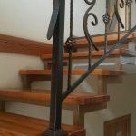 Основные преимущества лестницы на металлическом каркасе
