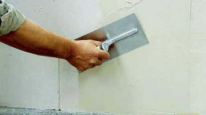 Преимущества и недостатки цементной шпаклевки