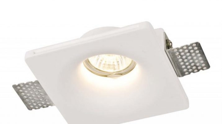Встраиваемые гипсовые светильники