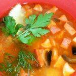 Быстрая вкусная солянка — рецепт супа