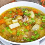 Суп с брюссельской капустой – пошаговый фоторецепт