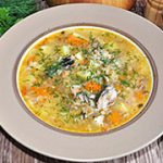 Суп с рыбными консервами – рецепт с фото