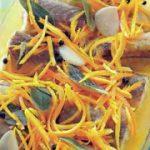 Маринованный угорь — рецепт маринованного угря.
