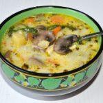 Грибной суп со сливками – пошаговый фоторецепт