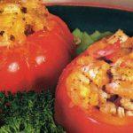 Горячая закуска из помидоров с креветками — рецепт