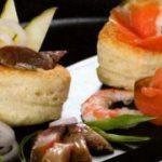 Закусочные валованы с сельдью и семгой — рецепт рыбной закуски