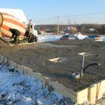 Как изготовляется зимний бетон и его особенности