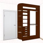 Как сделать проект шкафа-купе самому