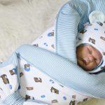 Особенности выбора зимнего конверта для новорожденного