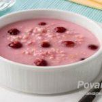 Вишневый суп с «ракушками»: рецепт сладкого супа с вишнями